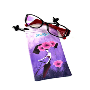 Digital Printing Microfiber Sunglasses Bag